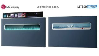 Rise and shine: LG patents extendable OLED TV