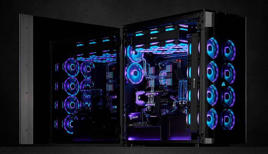 These new fans are for builders who feel there's no such thing as too much RGB
