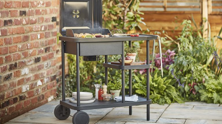 Image of Rockwell charcoal 210 barbecue from B&Q