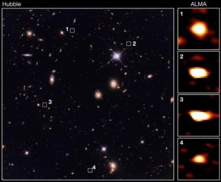 Astronomers Uncover 39 Ancient Galaxies — Moving So Fast That Even Hubble Can't See Them | Live Science