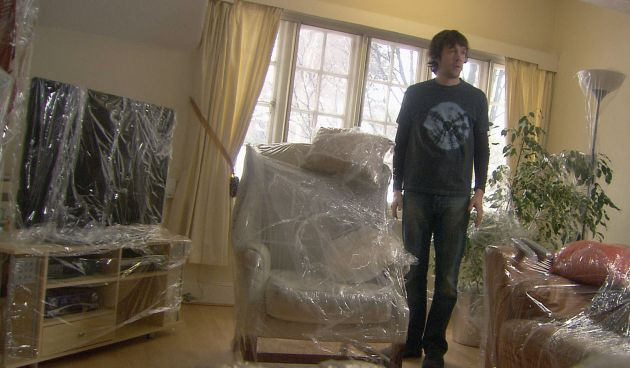 Smithy Wraps The Furniture In Clingfilm