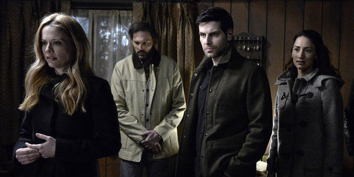 Some of the main cast of Grimm.