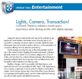 LIGHTS, CAMERA, TRANSACTION!