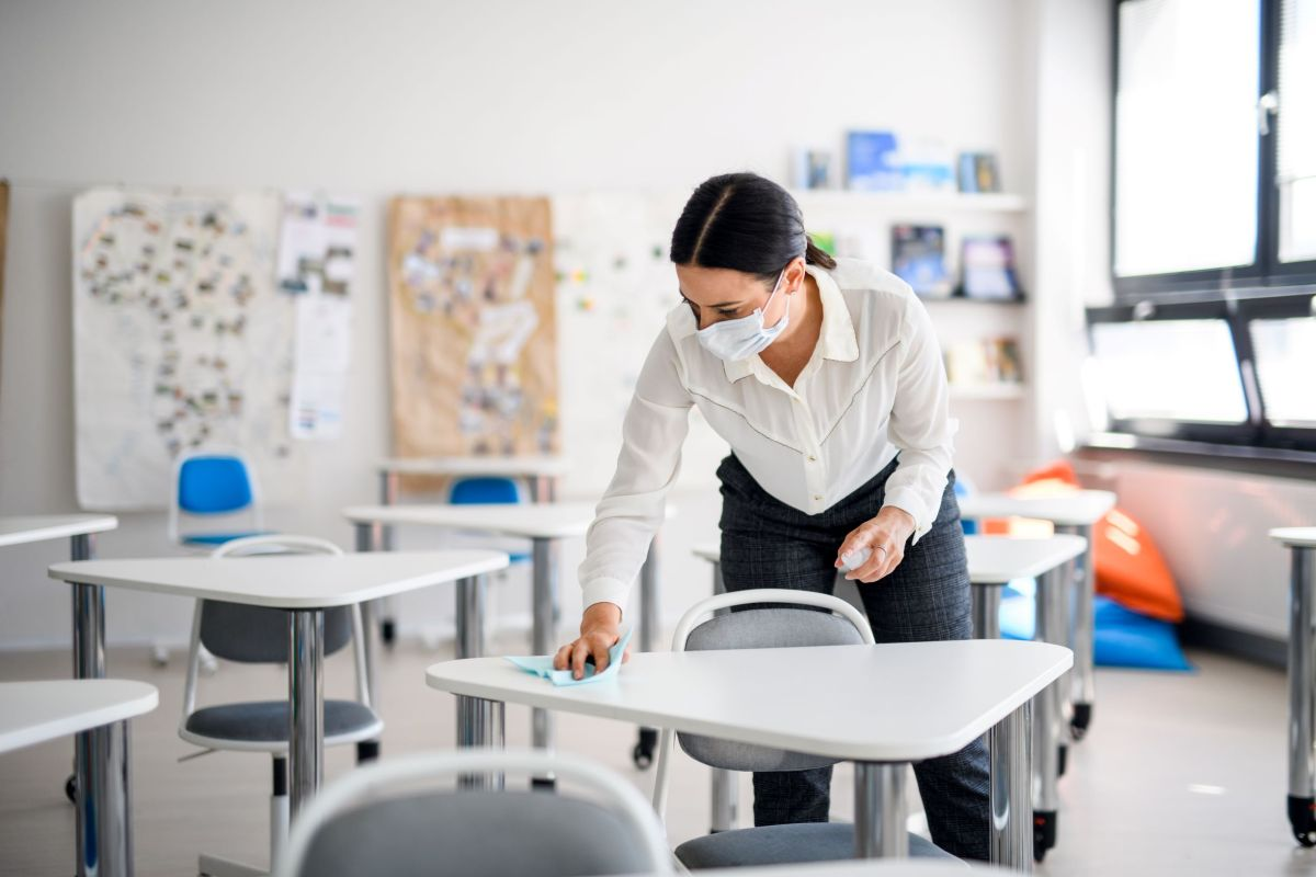 Teachers may play a central role in spreading COVID-19 in schools, CDC says
