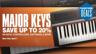 Save up to 20% on digital pianos, MIDI controllers, synths and plugins right now at Guitar Center