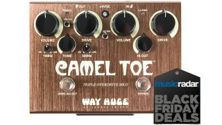 Get a massive $160 off Way Huge's Camel Toe MKII Triple Overdrive pedal right now