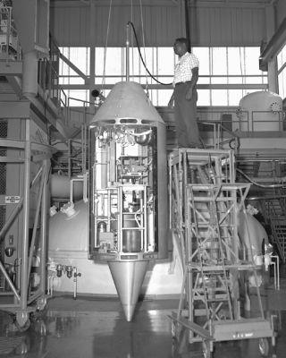 space history, zero gravity