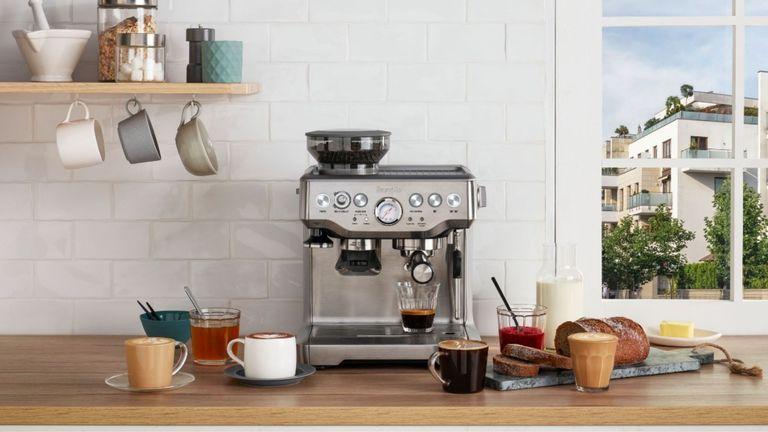 best espresso machine BREVILLE BARISTA EXPRESS
