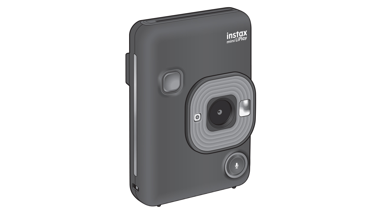 Fujifilm instax mini LiPlay has live view, remote control and sound recording