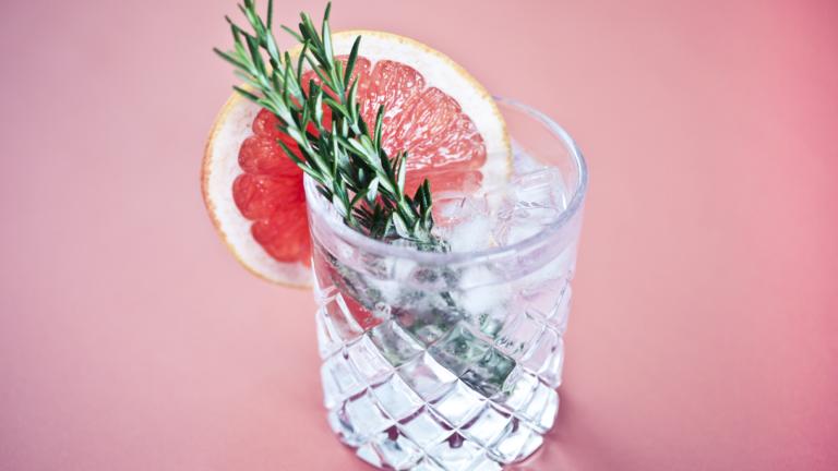 Amazon Black Friday Monkey 47 deal - gin in glass