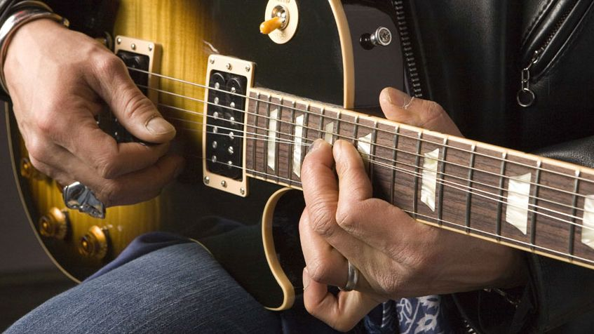 A beginner guitar lesson on the pentatonic scale