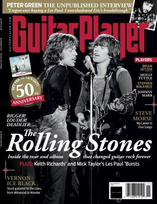 The cover of Guitar Player's November 2020 issue
