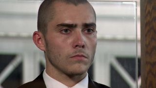 Coronation Street - Corey in the stand