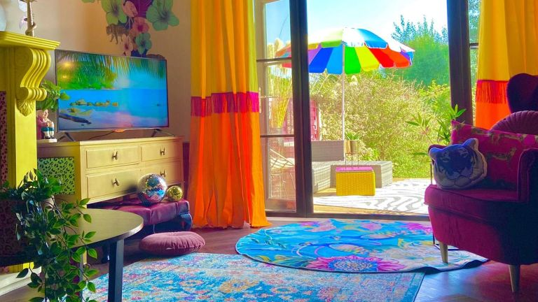 colourful home makeover