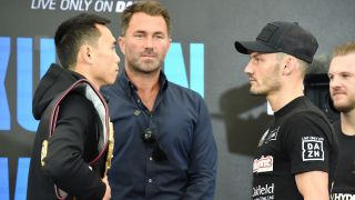 Can vs Wood is a WBA Featherweight title fight scheduled for Saturday, July 31