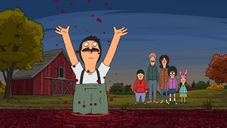 Bob's cranberry delight in 'Bob's Burgers.'