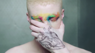 A still from Issues' Coma video