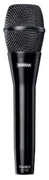 Shure Adds Polar Patterns to KSM9 Vocal Condenser Mic
