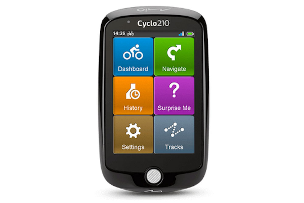 Mio Cyclo 210 GPS computer review - Cycling Weekly