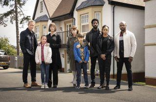 The cast of Hollington Drive.