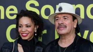 Cindy Blackman Santana and Carlos Santana, 2017
