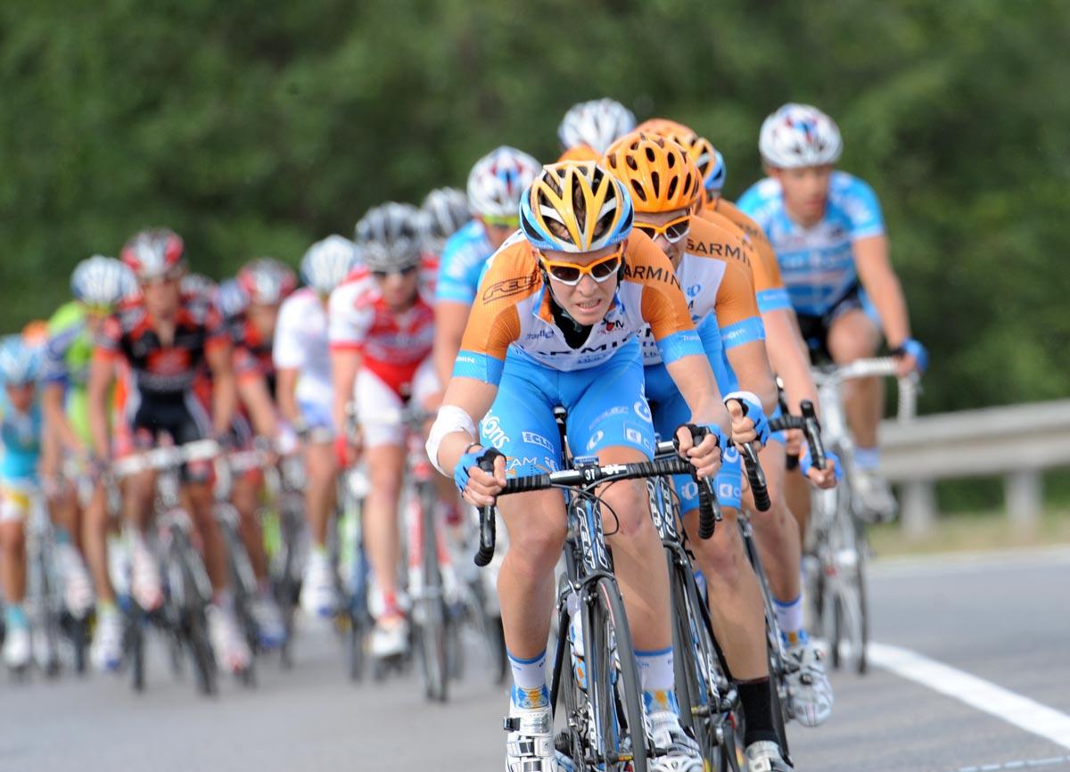 Garmin chase, Giro d'Italia 2010, stage 12