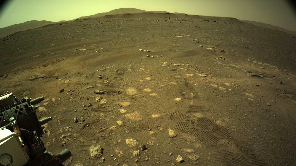 NASA's Perseverance rover takes its first take a look at drive on Mars
