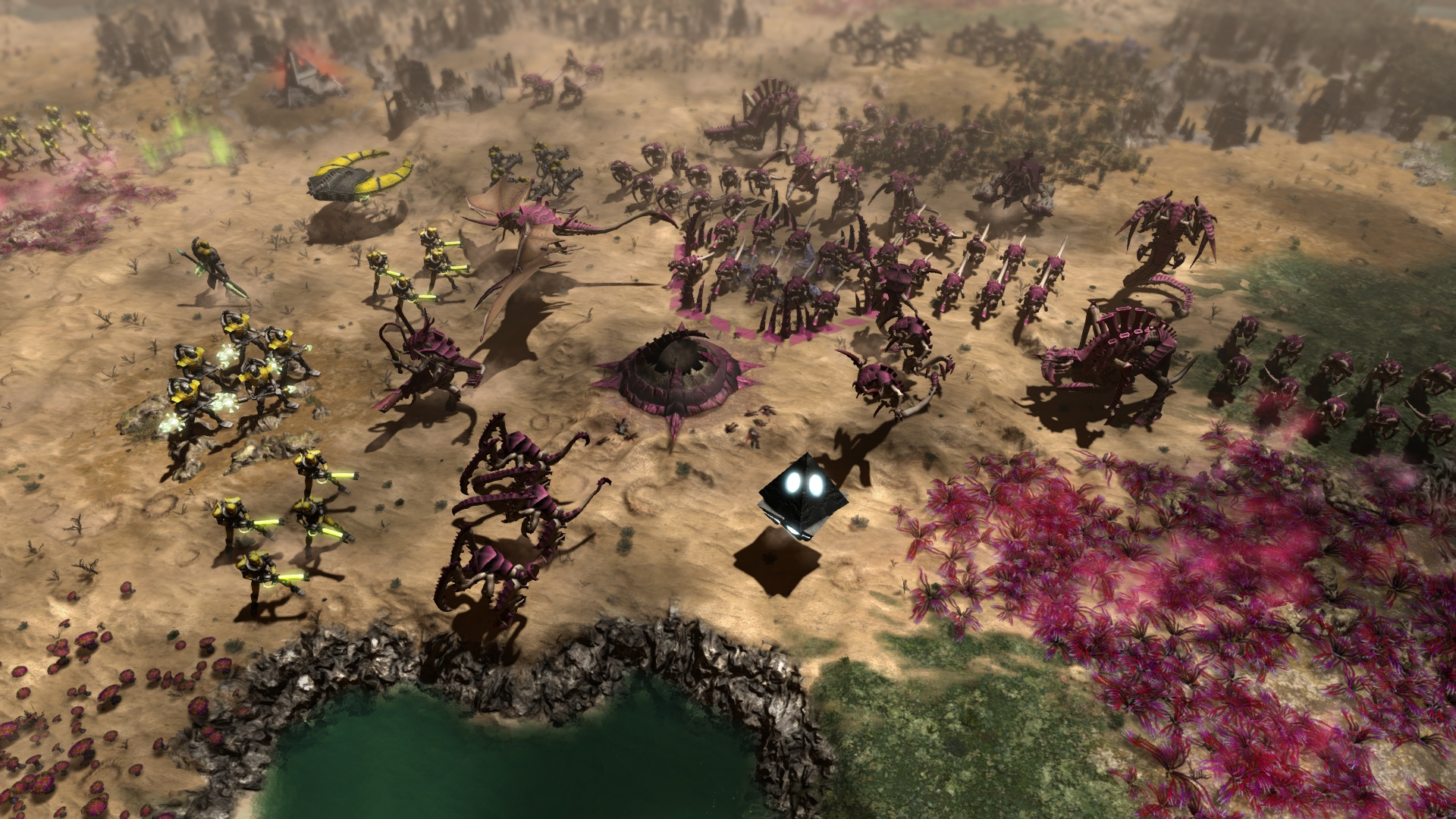 All-devouring Tyranid swarms arrive in Warhammer 40k: Gladius this week