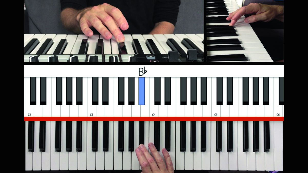 How to play the blues scale on your piano or MIDI keyboard