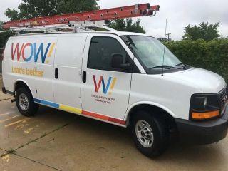WOW service truck