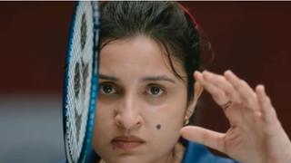 Still from the film Saina Nehwal
