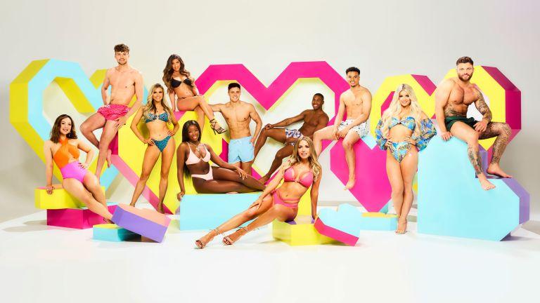 Love Island UK 2021 cast: Sharon Gaffka, Hugo Hammond, Chloe Burrows, Shannon Singh, Kaz Kamwi, Brad McClelland, Faye Winter, Aaron Francis, Toby Aromolaran, Liberty Poole and Jake Cornish.