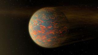 Hot Lava Planet