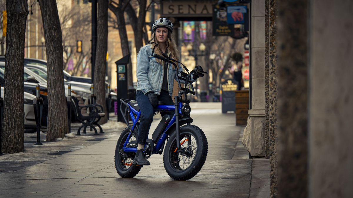 Biktrix Moto is an e-bike with a range of over 100 miles