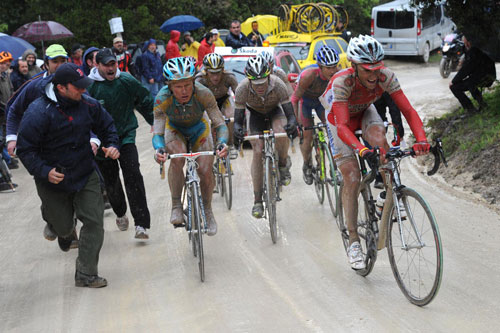 Garzelli group, Giro d'Italia 2010, stage 7