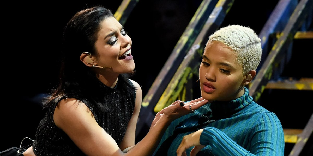 Vanessa Hudgens and Kiersey Clemons in Rent: Live