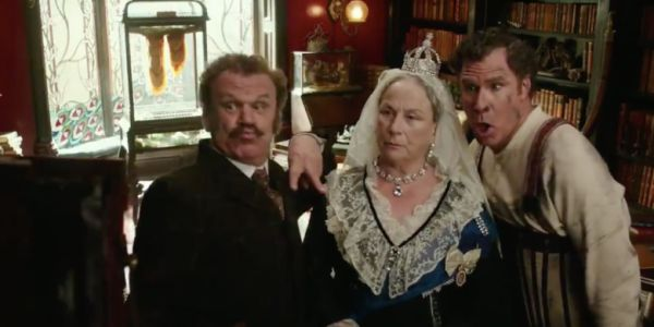 Will Ferrell and John C Reilly in Holmes and Watson