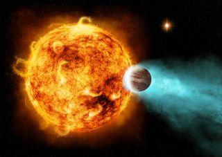 Hot Jupiter art