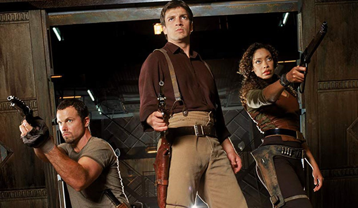 Firefly stars Nathan Fillion