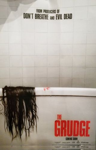 The Grudge reboot's first poster will make you hate your shower again