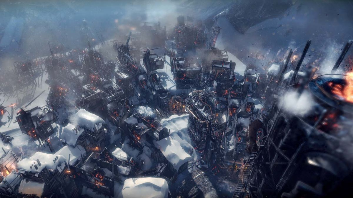 Frostpunk's latest expansion is out now, celebrates with two new trailers
