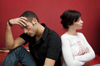 An image of an angry couple.