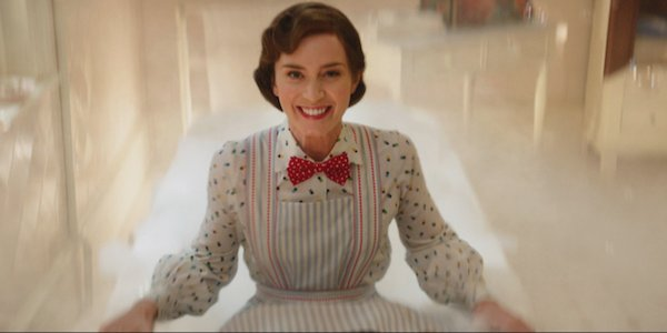 Mary Poppins emily blunt smiling