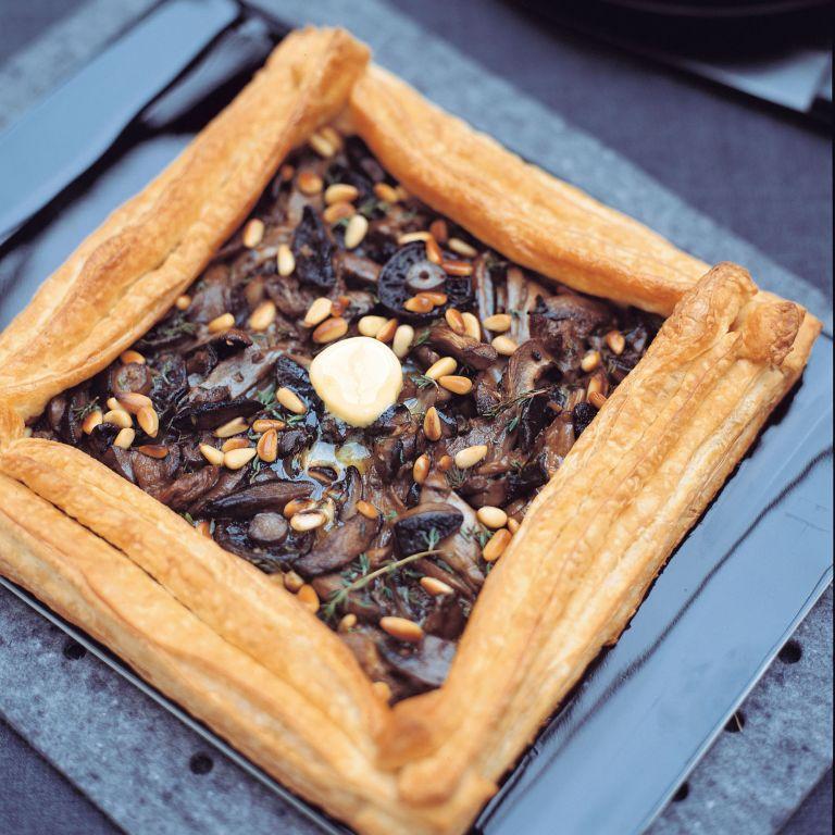 Mushroom Tart recipe-mushroom recipes-recipe ideas-new recipes-woman and home