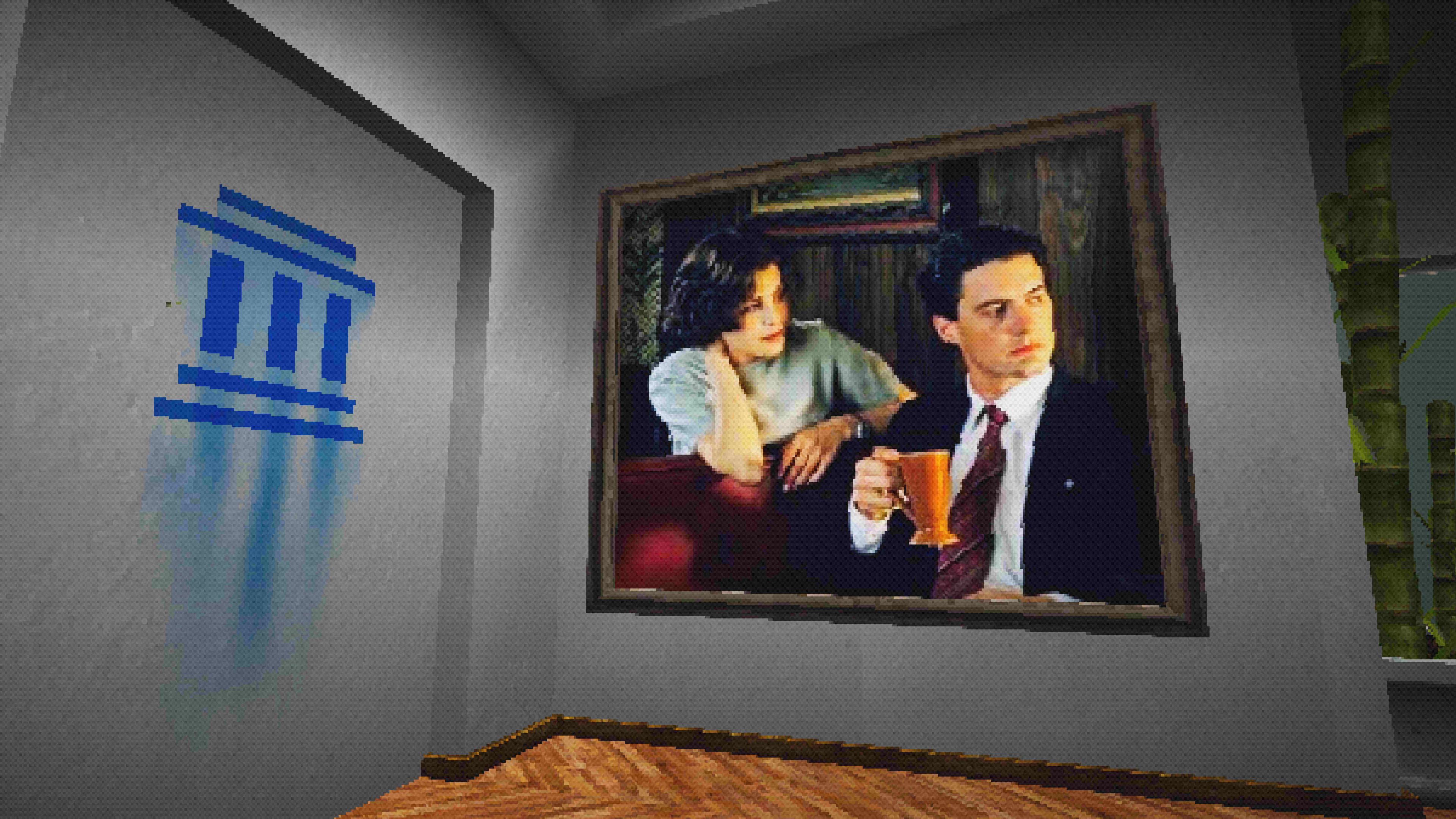 Dale Cooper and Audrey Horne