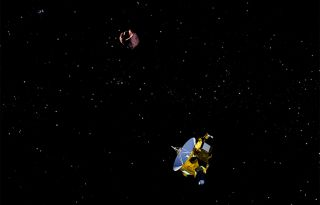 New Horizons' Second Flyby: Artist's Illustration