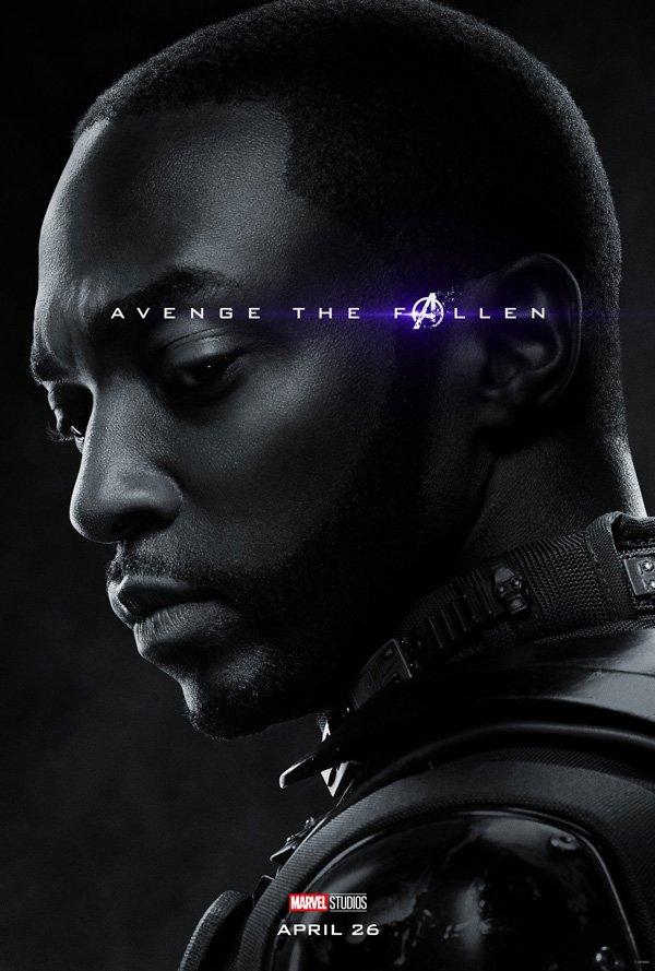 Falcon in endgame poster