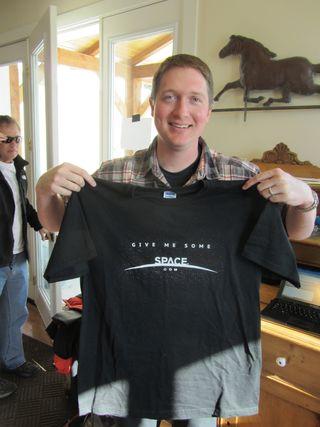 SPACE.com T-shirt