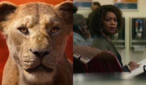 The Lion King Sarabi and Alfre Woodard side by side