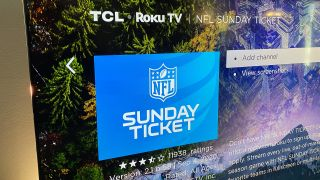 NFL Sunday Ticket is available on Roku.